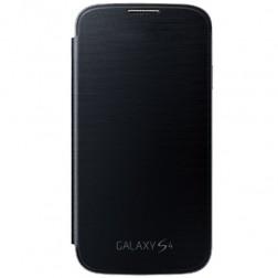 """""""Flip Wallet"""" atvēramais ādas maciņš - melns (Galaxy S4)"""