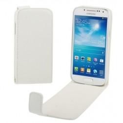 Vertikāli atvēramais futrālis - balts (Galaxy S4 mini)