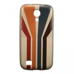 """""""Bullet"""" apvalks - """"Striped"""" (Galaxy S4 mini)"""