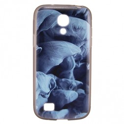 """Bullet"" apvalks - ""Blue Smoke"" (Galaxy S4 mini)"