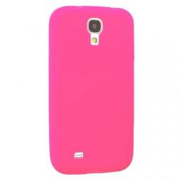 Plastmasas atvērams maciņš - rozs (Galaxy S4)
