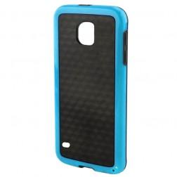 """Carbon"" cieta silikona (TPU) apvalks - melns (Galaxy S5 / S5 Neo)"