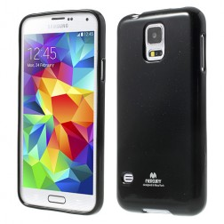 """Mercury"" apvalks - melns (Galaxy S5 / S5 Neo)"