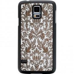 """Crafted Cover"" dabīga koka apvalks - Puķu dārzs (Galaxy S5 / S5 Neo)"