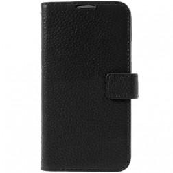 """""""Lychee"""" atvēramais futrālis - melns (Galaxy S5 / S5 Neo)"""