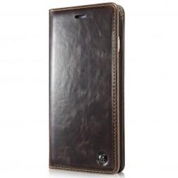 """""""CaseMe""""  solīds atvēramais ādas maciņš - brūns (Galaxy S5 mini)"""