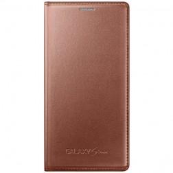 """""""Samsung"""" Flip Cover atvērams maciņš - zelta (Galaxy S5 mini)"""