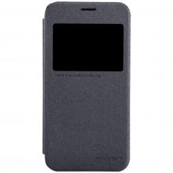 """""""Nillkin"""" Sparkle atvēramais maciņš - pelēks (Galaxy S5 mini)"""