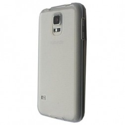 Planākais TPU apvalks - dzidrs, pelēks (Galaxy S5 mini)