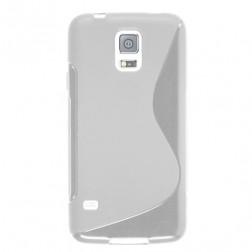 """""""S-Line"""" cieta silikona (TPU) apvalks - dzidrs (Galaxy S5 mini)"""