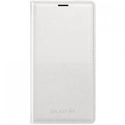 """""""Samsung"""" Flip Wallet Cover atvērams maciņš - balts (Galaxy S5 / S5 Neo)"""
