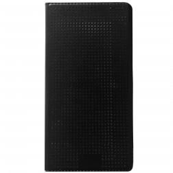 """Atvērams """"Dot View"""" maciņš - melns (Galaxy S5 / S5 Neo)"""