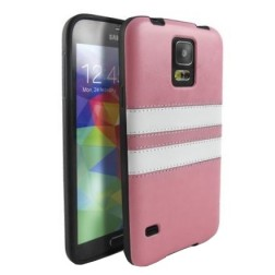 """Strips"" futrālis - rozs (Galaxy S5 / S5 Neo)"