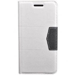 """""""Sparkle"""" atvēramais futrālis - balts (Galaxy S5 / S5 Neo)"""