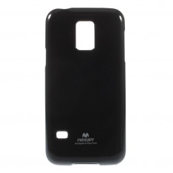 """Mercury"" futrālis - melns (Galaxy S5 mini)"