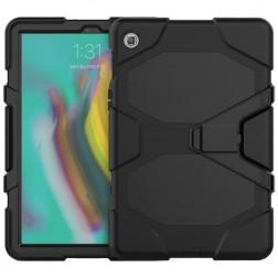 Pastiprinātas aizsardzības apvalks - melns (Galaxy Tab S5e)