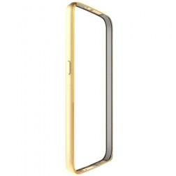 Rāmis (bamperis) - zelta (Galaxy S6)