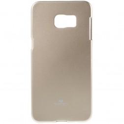 """Mercury"" apvalks - zelta (Galaxy S6 Edge+)"