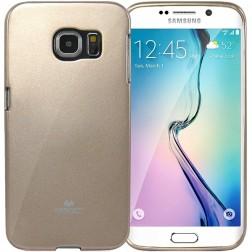 """Mercury"" apvalks - zelta (Galaxy S6 Edge)"