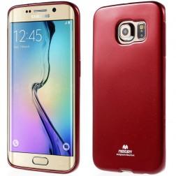 """Mercury"" apvalks - sarkans (Galaxy S6 Edge)"