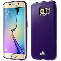 """Mercury"" apvalks - violeta (Galaxy S6 Edge)"