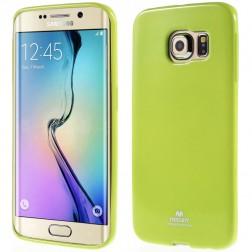 """""""Mercury"""" apvalks - zaļš (Galaxy S6 Edge)"""