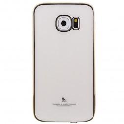 """""""Luphie"""" plastmasas apvalks - balts (Galaxy S6 Edge)"""