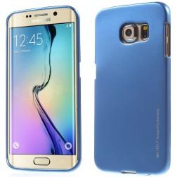 """Mercury"" apvalks - zils (Galaxy S6 Edge)"