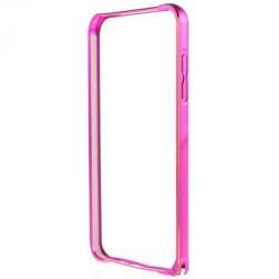 Rāmis (bamperis) - rozs (Galaxy S6 Edge)