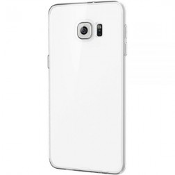Planākais TPU apvalks - dzidrs (Galaxy S6 Edge+)