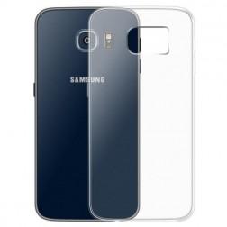 Cieta silikona (TPU) apvalks - dzidrs (Galaxy S6 Edge)