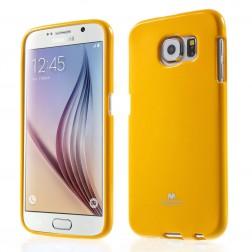 """""""Mercury"""" apvalks - dzeltens (Galaxy S6)"""