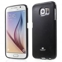 """""""Mercury"""" apvalks - melns (Galaxy S6)"""