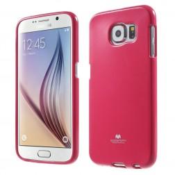 """Mercury"" apvalks - tumši rozs (Galaxy S6)"