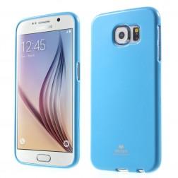 """Mercury"" apvalks - gaiši zils (Galaxy S6)"