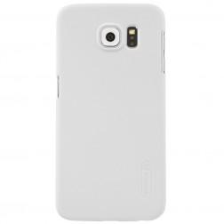 """Nillkin"" Frosted Shield apvalks - balts + ekrāna aizsargplēve (Galaxy S6)"