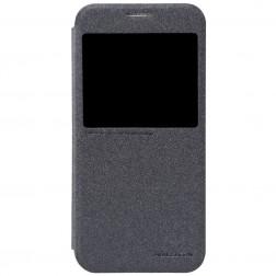 """""""Nillkin"""" Sparkle atvēramais maciņš - pelēks (Galaxy S6)"""
