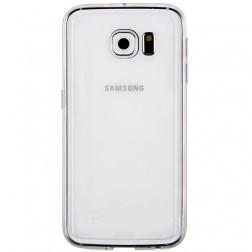 Cieta silikona (TPU) apvalks - dzidrs (Galaxy S6)