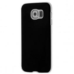 Slim Leather ādas apvalks - melns (Galaxy S6)