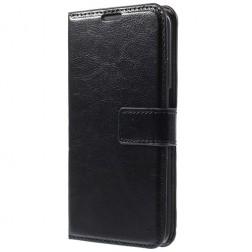 Atvēramais maciņš - melns (Galaxy S6)