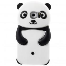 Mīksta silikona - panda (Galaxy S6)