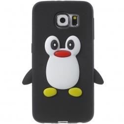 Mīksta silikona - pingvīns (Galaxy S6)