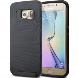 Pastiprinātas aizsardzības apvalks - melns (Galaxy S6)
