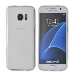 Pilnīgi aizsedzams TPU apvalks - dzidrs (Galaxy S7)