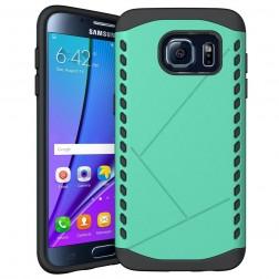 Pastiprinātas aizsardzības apvalks - piparmētru (Galaxy S7 edge)