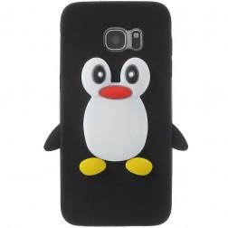 Mīksta silikona - pingvīns (Galaxy S7 Edge)