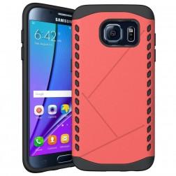 Pastiprinātas aizsardzības apvalks - sarkans (Galaxy S7 edge)