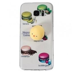 """Squezy"" Yolk cieta silikona (TPU) apvalks - dzidrs (Galaxy S7 Edge)"