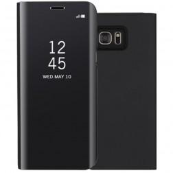 Plastmasas atvērams maciņš - melns (Galaxy S7)