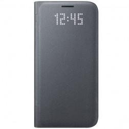 """Samsung"" Led View Cover atvērams maciņš - melns (Galaxy S7)"